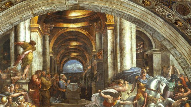 Raffaello e l architettura palladio museum for Programma di architettura