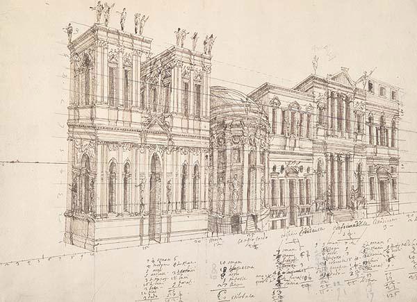 Architettura scienza palladio museum for Disegno del piano di architettura